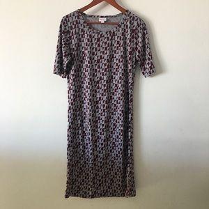 NWOT Lularoe Midi Dress Sz L